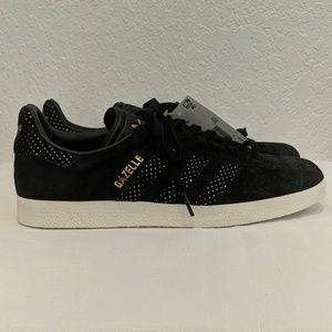 Adidas Gazelle Black & Gold Women's Sneaker